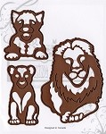 ROAR (3) matching dies set