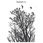 SILENCE 1 STATIC MOUNTED RUBBER STAMP