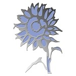 SUNFLOWER(1) CLING MOUNT RUBBER STAMP AND DIE COMBO