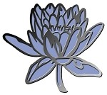 LARGE WATERLILY MATCHING DIE AND STAMP COMBO