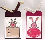 TAG UR IT (6 ) STATIC MOUNTED RUBBER STAMPS