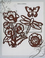 Summer Time Blooming matching die set (4)