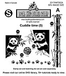 Cuddle Time (5) EZ mounted rubber stamps