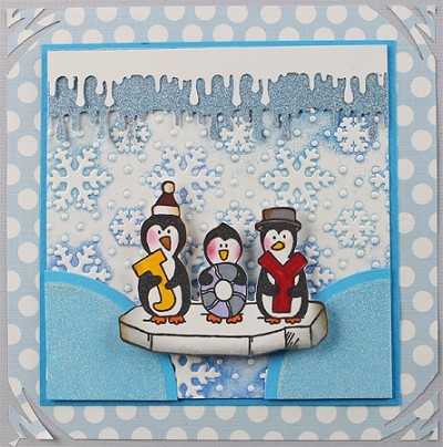 HAPPY FEET (4) CLING MOUNT RUBBER STAMPS